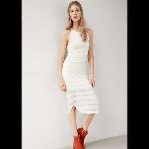 Ecote Linear Lace Bodycon Dress